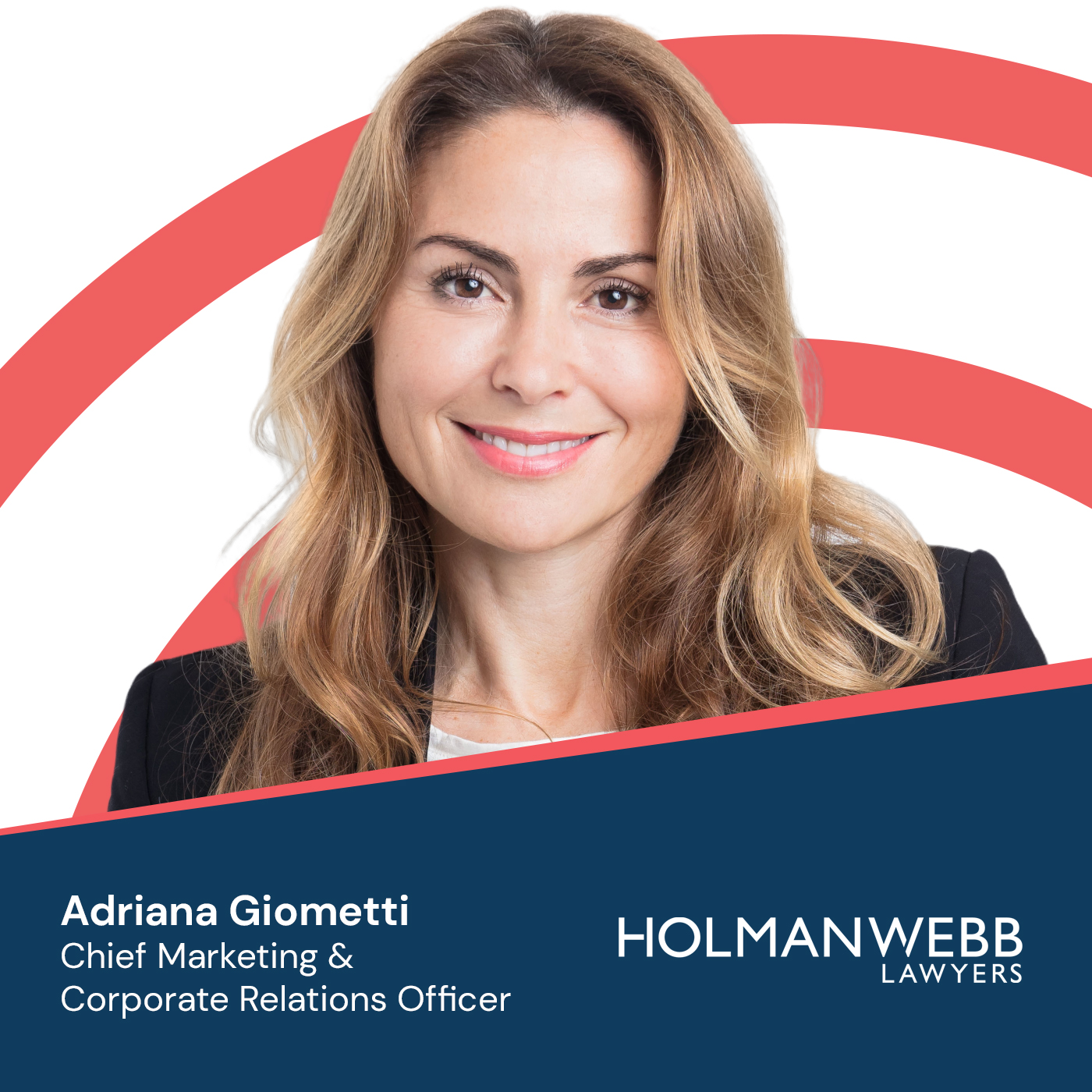 Adriana Giometti - Holman Webb Lawyers - Professionally Challenged Podcast