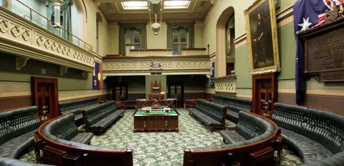 Interior of the Legislative Assembly Chamber