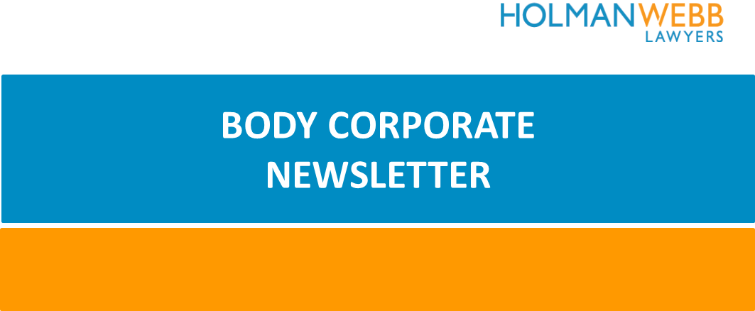 Body Corporate Newsletter image