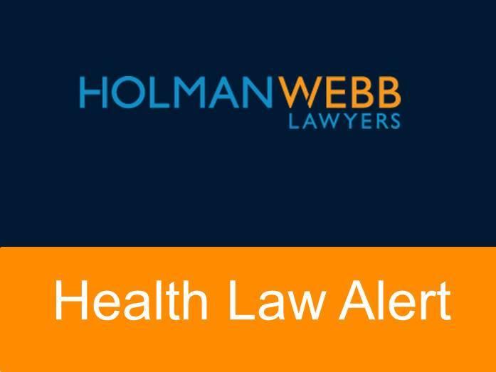 Health Law Alert pic