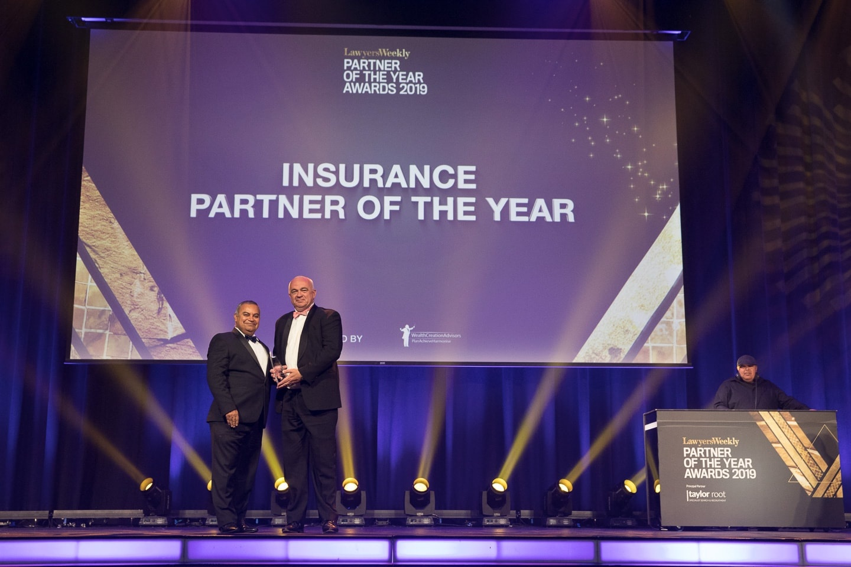 Holman Webb Lawyers - John Van de Poll - Insurance Partner of the Year