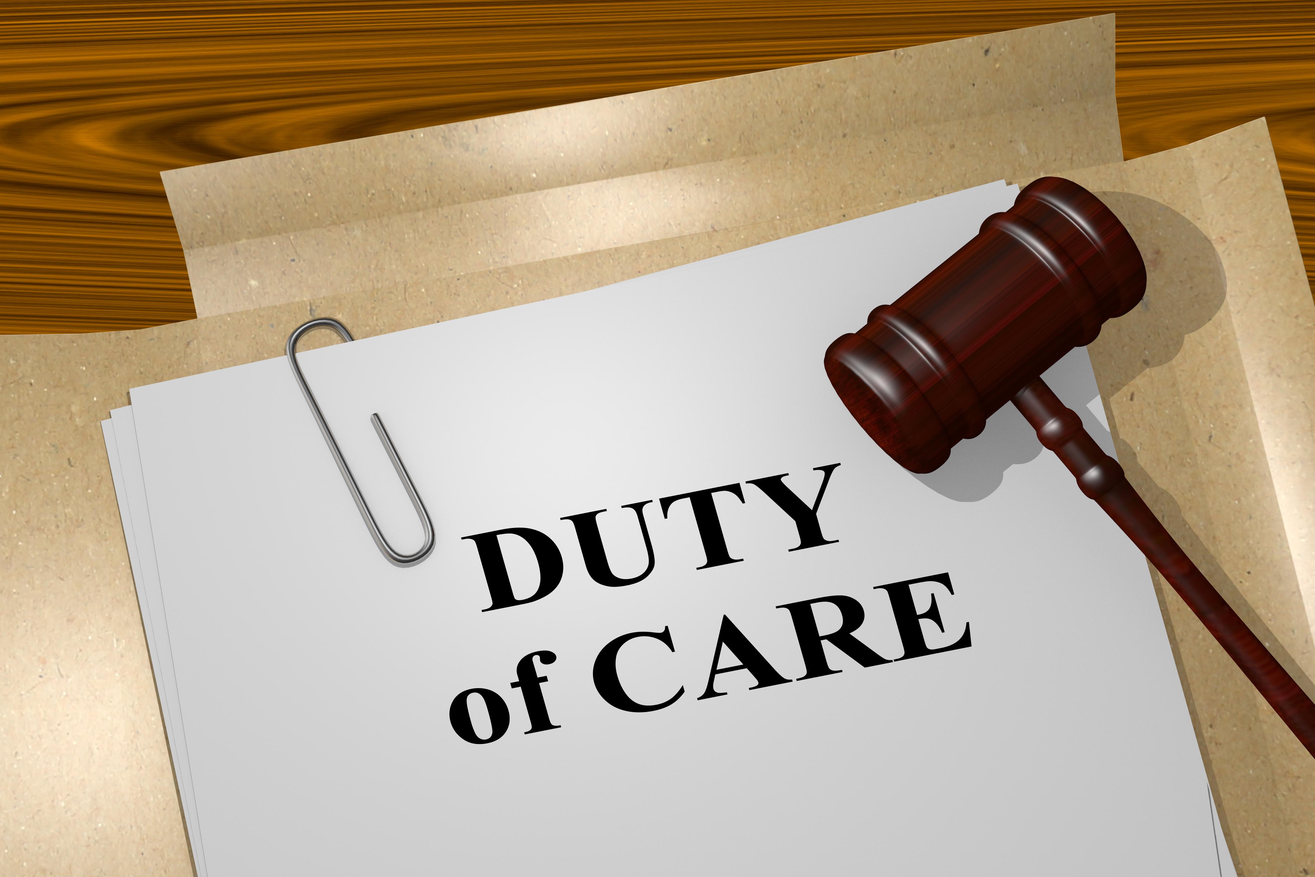 shutterstock_524156644 (Duty of Care)