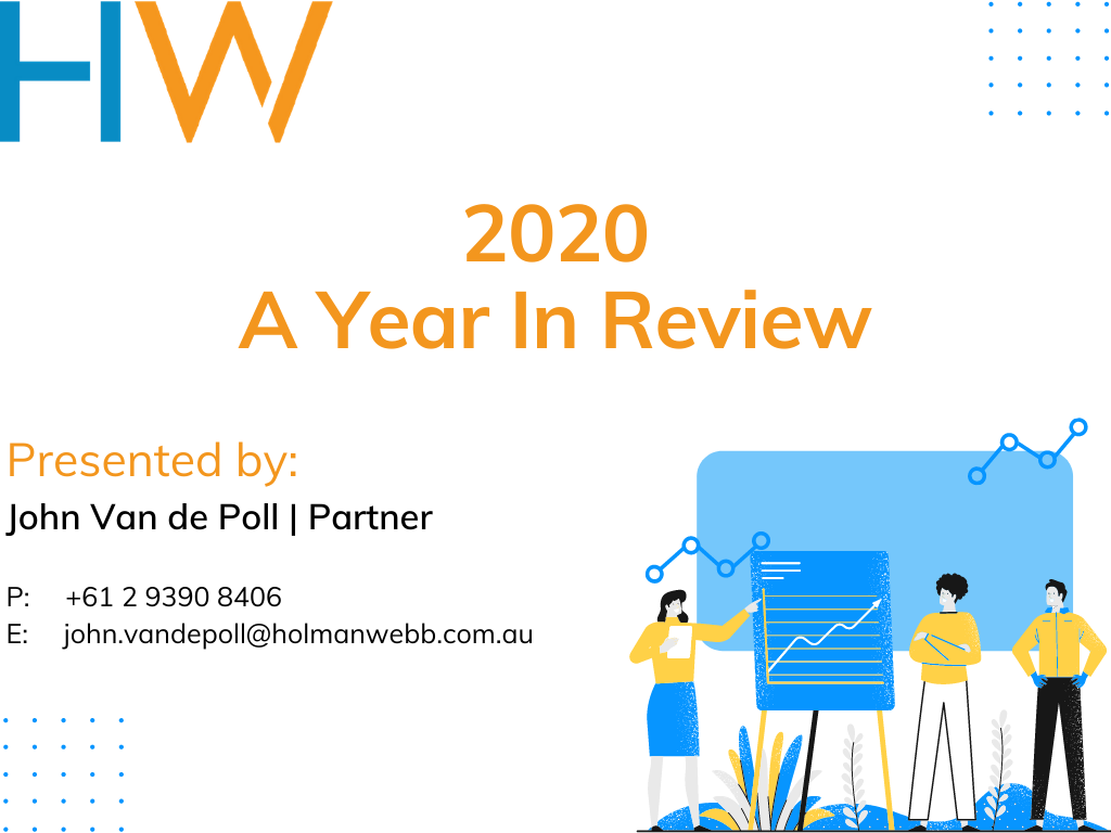 Insurance Webinar Recording: 2020 – A Year in Review