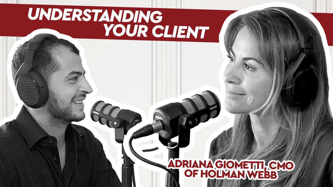 Podcast: Adriana Giometti – Understanding Your Client (Catching up with CUB)