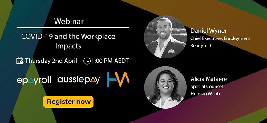 Webinar Recording: COVID-19 and the Workplace Impacts