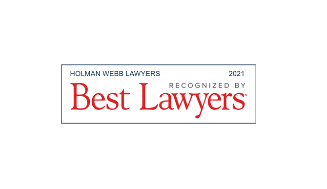 Holman Webb Recognised in Best Lawyers Australia 2021